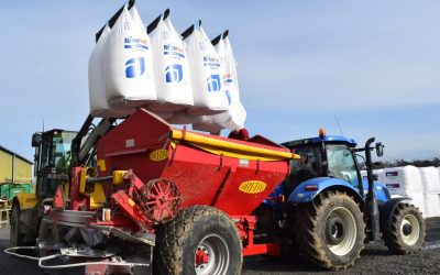 Are you all prepared to spread fertiliser?